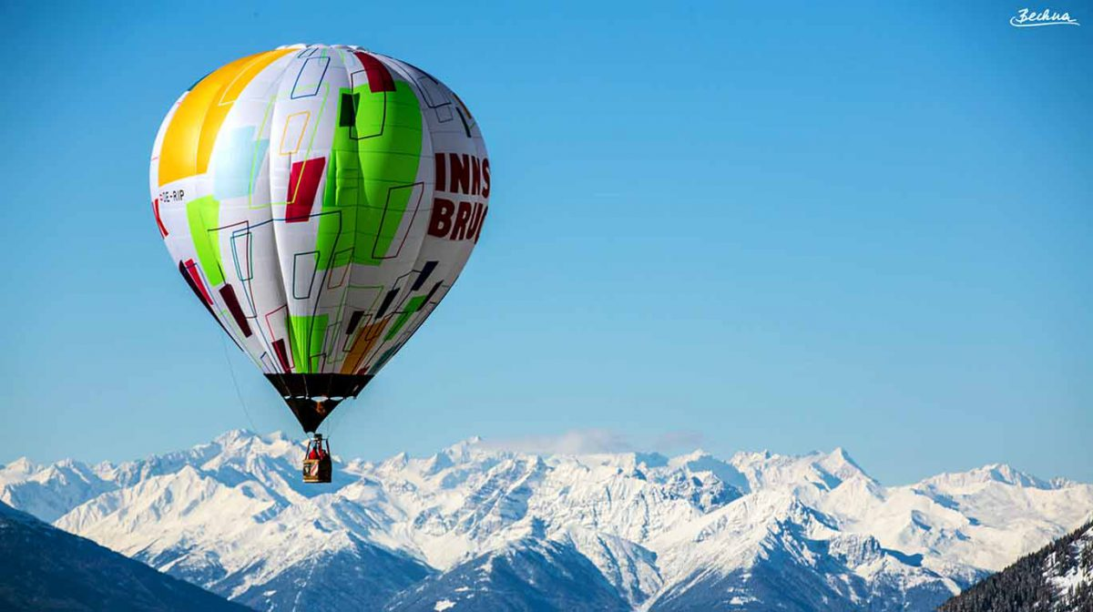 Ballonfahren hat in Tirol Tradition